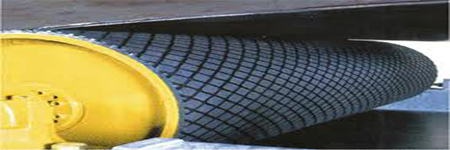 Rubber sheets resistant at abrasion